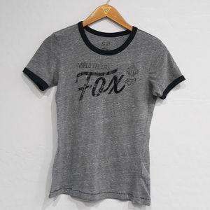 Fox Racing Ladies Raglan Tee Shirt